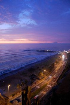 Lima, Peru. It was so weird to be in the Eastern Time Zone while looking at the Pacific Ocean.