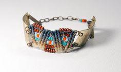 ZigZag Bracelet princesse naturel cuivre par AMiRAjewelry sur Etsy