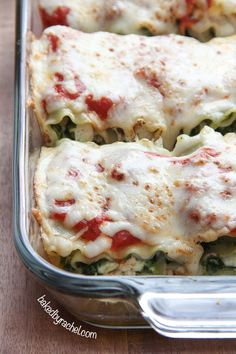 Pesto Chicken Lasagna Rolls