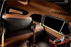 Fiat 500 Interior, Custom Car Interior, Truck Interior, Automotive Upholstery, Car Upholstery, Fiat 600, Ford Capri, Vw Engine, Leather Car Seats