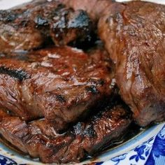 This is my favorite, go to, easy, peasy, steak marinade. I've tried bunches of them but always end up using this one over and over again.
