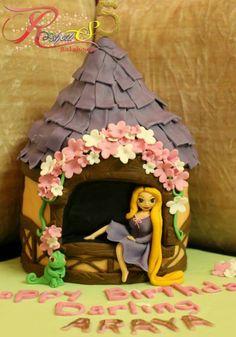Rapunzel cake Roshows Bakehouse