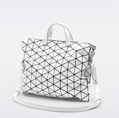 2014 new baobao issey miyake plaid bag Messenger Bags women handbag big bag geometry classic