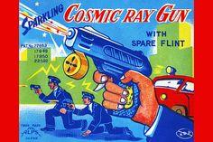 Pistola de rayos cósmicos...
