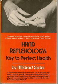Hand Reflexology Key to Perfect Health Carter HC DJ 1975