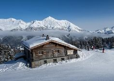 We highly recommend Alp Fops Mountain Restaurant in Lenzerheide, Switzerland. Kids Skis, Treehouses, Small Houses, Winter Sports, Winter Time, Barns, Great Places, Cottages, Switzerland