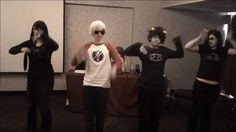 Ponponpon homestuck  THIS CLICK IT YOU WONT REGRET IT XD Dave is the only one who has the dance down xD