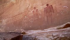 Big Man Pictograph Panel