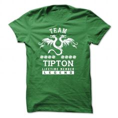 [SPECIAL] TIPTON Life time member - #bridesmaid gift #wedding gift. WANT  => https://www.sunfrog.com/Names/[SPECIAL]-TIPTON-Life-time-member-Green-47508577-Guys.html?id=60505