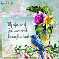 Psalm 7:10 KJV