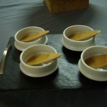 """Coupes en porcelaine, could make the """"spoon"""" ceramic too"""