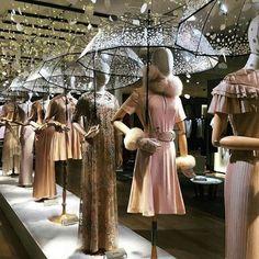 WEBSTA @ visual_window - LE BON MARCHE ☂️☂️☂️☂️ ....#windowdisplay #merchandising #amazing #sales #visualmerchandising #art #design #vm #store #paris #lebonmarche #umbrella #rain @lebonmarcherivegauche