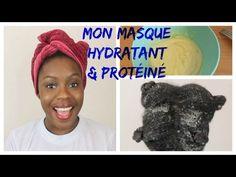 Mon masque maison : Hydratant et Protéiné - YouTube