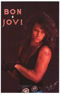 Jon Bon Jovi was as much of a hottie back in the 1980's as he is nowadays! A great poster of the ultimate Jersey Boy :) Ships fast. 11x17 inches. Need Poster Mounts..?