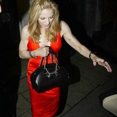 Madonna on her Birthday 2004