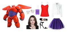 """Bay Max"" by hyperducky on Polyvore"