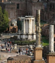 Temple Vesta, Roman Forum, Rome