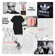 """""""blue, i see you"""" by iced-lemons ❤ liked on Polyvore featuring Monki, Karl Lagerfeld, Alöe, Chanel, Luli, Topshop and Assouline Publishing"""