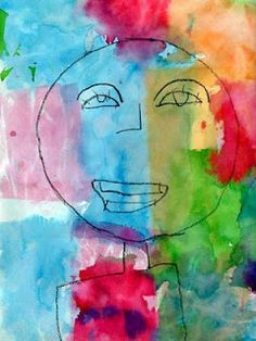 Paul Klee Portrait - Art Projects for Kids Classroom Art Projects, Art Classroom, Projects For Kids, Project Ideas, Kindergarten Art, Preschool Art, Paul Klee Art, Ecole Art, Portrait Art