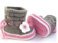 Markimo Design - Baby Booties Rose