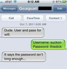 26 Hilarious Ways to Troll People by Text - Autocorrect Fails and Funny Text Messages - SmartphOWNED Really Funny, The Funny, Just For Laughs, Just For You, Funny Text Messages, Thats The Way, Twisted Humor, Laughing So Hard, Funny Texts