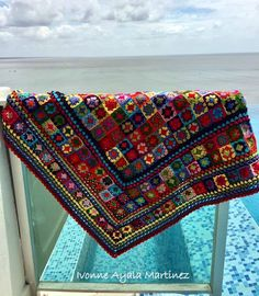 Manta Crochet, Crochet Patterns, Crochet Ideas, Patchwork Bedspreads, Bed Spreads, Needlework, Embroidery, Knitting, Blankets