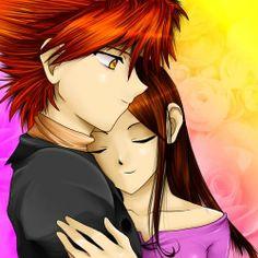 Edward and Bella hugging