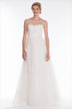bateau wedding dress