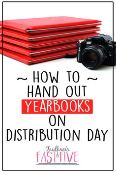 YEARBOOK DISTRIBUTION DAY TIPS AND BEST PRACTICES Yearbook distribution day is both exciting and worrisome for a yearbook adviser. There are so many things that can go wrong, but they don't have to! I don't have it all figured out, but over the years I have developed some methods and strategies to help make the day a success. I'm sharing those Yearbook Distribution Day Tips and Best Practices here!