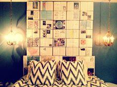 Cabecero de cama con revistas. DIY DecoraLola