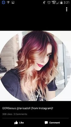 Red Blonde