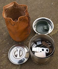 Wayland's Hobo Stove packed                                                                                                                                                                                 More