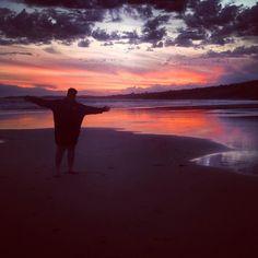 Best place ever  #Anglesea #sunset #favouriteplace by denaaaro http://ift.tt/1KosRIg