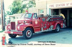 San Antonio Fire Department photos from 1976
