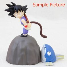 Dragon Ball Z Son Gokou Boy Figure Memo Paper Stand banpresto JAPAN ANIME