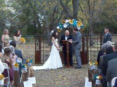 Vows under the trees, Nov. 11th