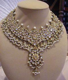kundan jewellery design | bridal jewellery OMFG i LOVE THIS!