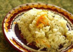 Lemon Cilantro Rice (in a rice cooker!)
