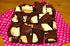 Käsekuchen-Brownies *