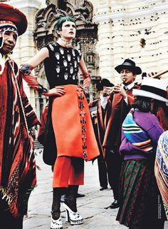 VOGUE september - Lima-Peru by Fabulous Mario Testino