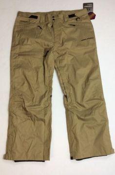 Under-Armour-Storm-Men-Infrared-Ski-Snowboard-Water-Resistant-Pants-GoldGear