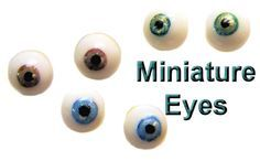 The BEST Tutorial I've found yet for miniature polymer clay eyes on polymer clay express.