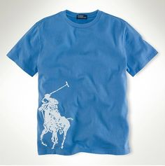 nouvelle collection ralph lauren - Polo Ralph Lauren Classic Fit Col Rond  T-Shirt Bleu f515ab3d476f