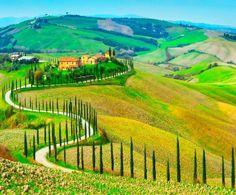 La bella Toscana!
