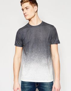 New Look | New Look T-Shirt In Gradient Fade at ASOS