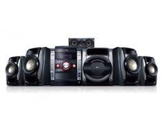 LG Hi-Fi Mini audiojärjestelmä 740W Automaattisella DJ, Auto EQ, Bass Blast LG 7630 DM