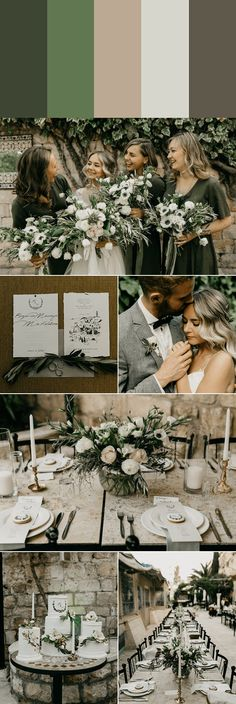 These 5 Muted Wedding Color Palettes are Timeless with a Trendy Twist | Junebug Weddings
