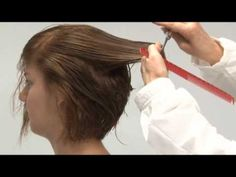 Thicken Hair with A-Line Haircut or Bob Cut Hairstyle - YouTube