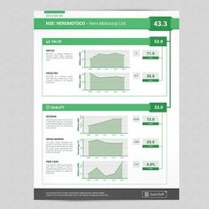 Design a Stock report for QuantSoft by sparrowdzine