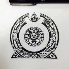Taurus Aztec Tattoo